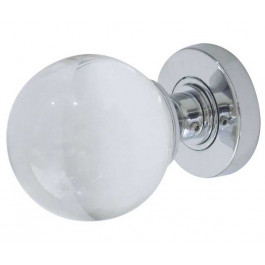 JH5201 Plain Ball Glass Sprung Mortice Knob Furniture Jedo