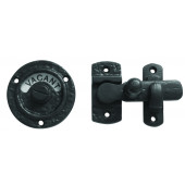 JAB80 - Bathroom Indicator Bolt 70mm - Black Antique