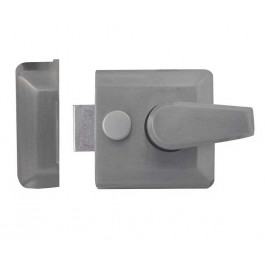 JL5031SC Yale type Front Door Narrow Style Night Latch 40mm Backset Satin Chrome