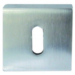 Paja Euro Profile Keyhole Cover - Polished Chrome