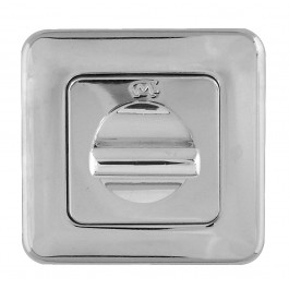 Mariani Square Bathroom Turn & Release - Polished Chrome