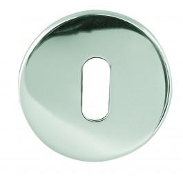 Mariani Round Bathroom Turn & Relase - Polished Chrome