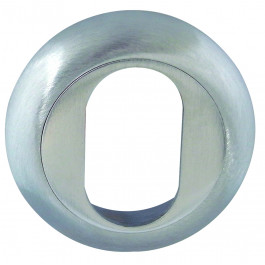 Paja Square Keyhole Cover - Polished Chrome