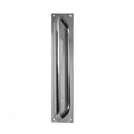 Aluminium Pull Handle On Back Plate