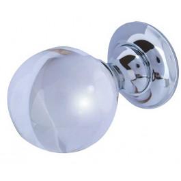JH1150 Plain Glass Ball Unsprung Mortice Knob Furniture Jedo