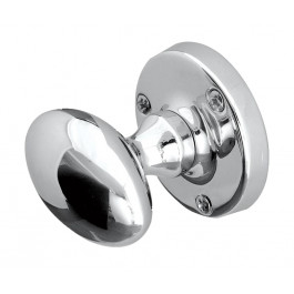 JV34PC-IT Italian Oval Sprung Mortice Knob