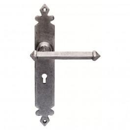 PE5501 Pewter Ludlow Tudor Door Handles