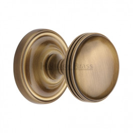 WHI6429-AT Heritage Brass Hampstead Sprung Concealed Mortice Knob