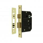 JL152EB - Contract Bathroom Lock Jedo Range 63mm Electro Brass Plate