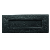 JAB12 - Traditional Plain Letterplate 270mm x 115mm - Black Antique