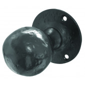 JAB5 - Ball Shaped Mortice Door Knob - Black Antique