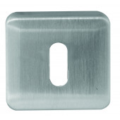 Mariani Square Standard Keyhole & Euro profile Covers - 2 finishes - JV5004