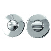 Mariani Square Standard Keyhole Cover - Standard Profile Polished Chrome