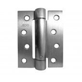 J9800 Satin Chrome BULK BUY Box of 10  Self-Closing Spring Hinge Fire Tested 30mins 102mm x 76mm Pack of 3 - Box of 10