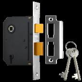 "UNION J-ES-SL-CH-3.0 Essential 3 Lever Sashlock 3"" Polished Chrome"
