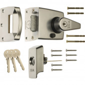 ERA 1930-35-1 BS High Security Nightlatch 60mm - Satin Chrome