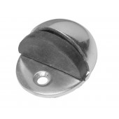 Aluminium Oval Shielded Floor Mounted Door Stop