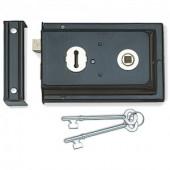 JL189BL - Reversible Rim Lock