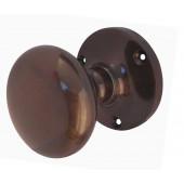 JV35BAB Contract 52mm Sprung Mushroom Mortice Knob