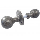 PEW5R Pewter Ball Shape Rim Knob