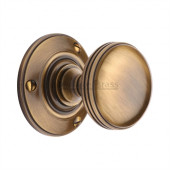 RHM988-AT Heritage Brass Richmond Sprung Mortice Knob