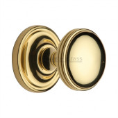 WHI6429-PB Heritage Brass Hampstead Sprung Concealed Mortice Knob